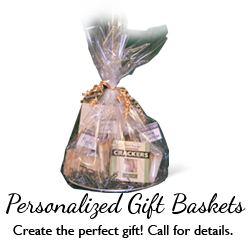 Personalized Gift Baskets Available!